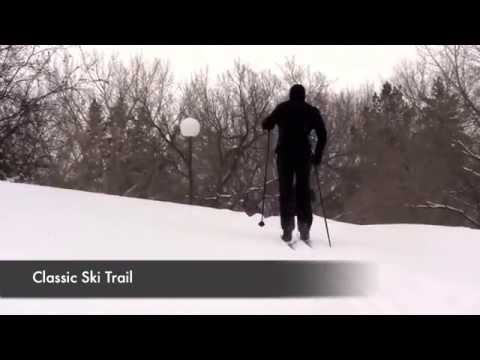 Cross-country skiing trail etiquette