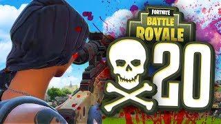 CAN I GET 20 KILLS in Fortnite Battle Royale?!