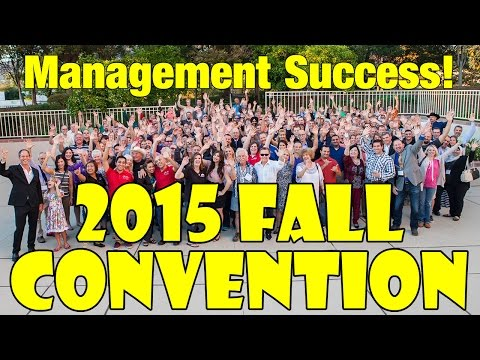 Management Success! Fall 2015 Convention in Glendale, CA