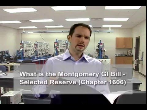 What is the Montgomery GI Bill – Selected Reserve (Chapter 1606)?