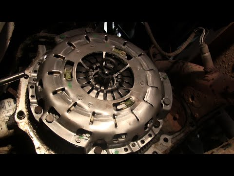 Ford Ranger Clutch Installation