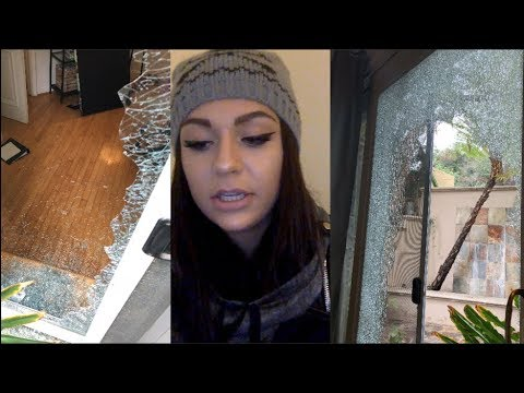 our house was broken into and robbed while we were home. | Andrea Russett