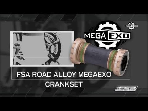 How To Install And Maintain An Alloy Road MegaExo Crankset - FSA Road