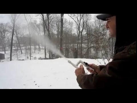 How to Make Snow for about $15 - PVC Pipe Projects