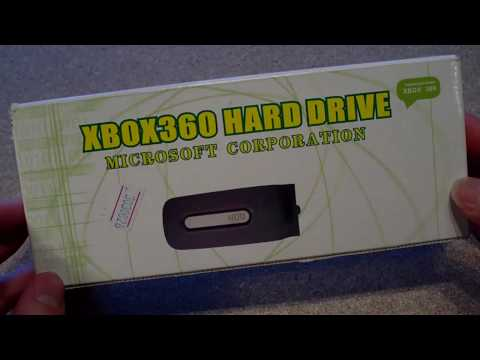 Fake Xbox 360 Hard Drive Enclosure From China - Unboxing