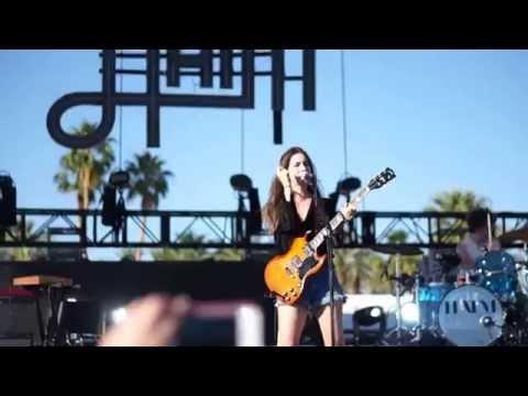Haim - My Song 5  Live Coachella 2014 HD
