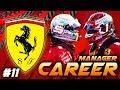 F1 2019 FERRARI MANAGER CAREER GOING AGGRESSIVE AT SINGAPORE 11