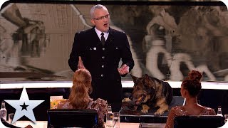 Magical police dog Finn is one in a million | The Final | BGT 2019