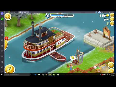 Hay Day   How to load boat very fast with market trick