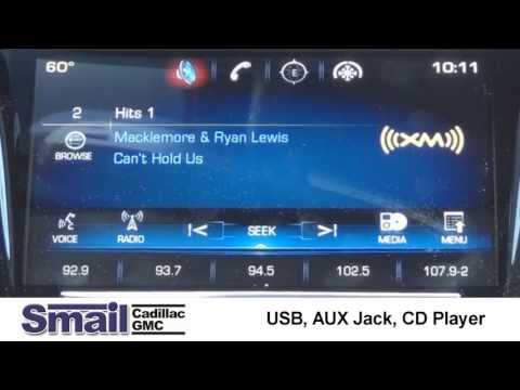 Using USB, AUX Jack, and CD Player with Cadillac CUE