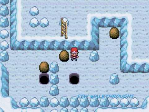 Pokemon Fire Red Walkthrough Part 35: Seafoam Islands and Articuno