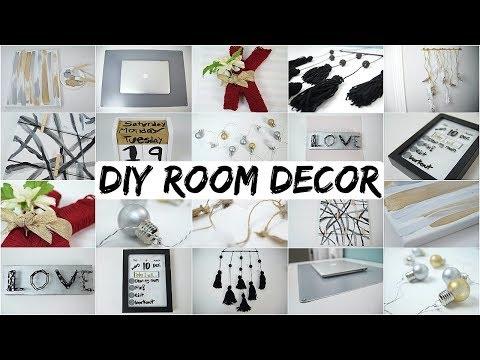 10 DIY Room Decor Ideas 2018! AESTHETICALLY PLEASING