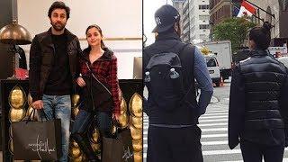 Ranbir Kapoor & Alia Bhatt TOGETHER On The Streets Of New York