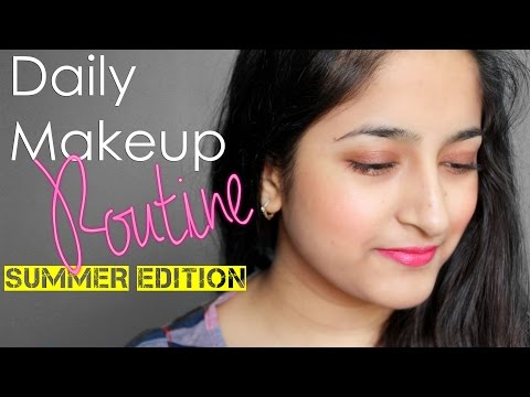 Daily Makeup Routine #SUMMER #INDIA #OFT2D