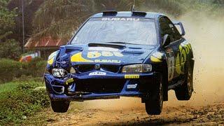 Colin McRae drama in Rally of Indonesia 1997