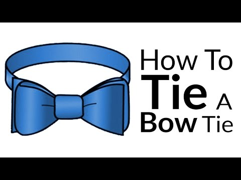 How To Tie A Bow-Tie | Easy Guide To Bow Tie Knots | Best BowTie Video Tutorial