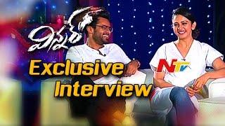 Winner Team Exclusive Interview || Sai Dharam Teja & Rakul Preet Singh || NTV