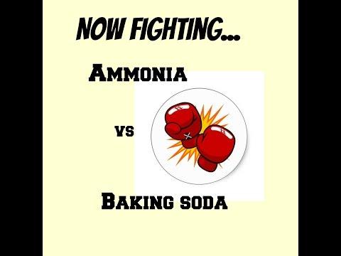 Baking soda/vinegar vs Ammonia - Which cleans better?