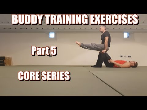 BUDDY TRAINING EXERCISES | PART 5: CORE SERIES