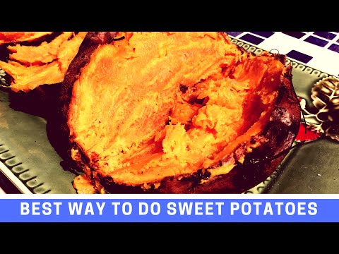 How to Barbecue Sweet Potatoes