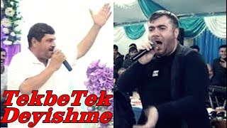 Usta getdi maşını düzəltdi gəldi | TekbeTek Meyxana - Kerim vs Resad Dagli