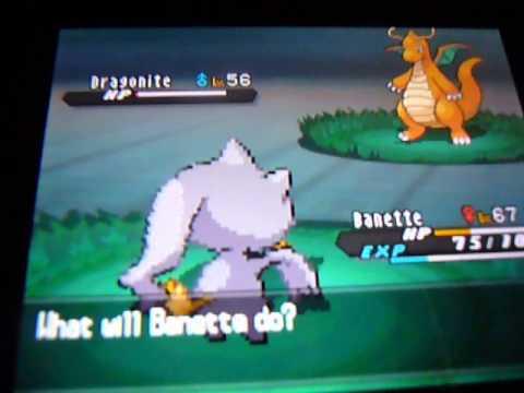 Pokemon black and white 2 hidden grotto dragonite chance 1%