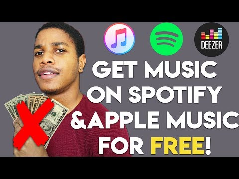 How To Get YOUR Music on Spotify/Apple Music for FREE!