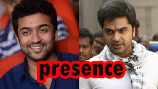 Download Simbu In The Presence Of More Than Surya | Tamil Movie News - entertamil Video