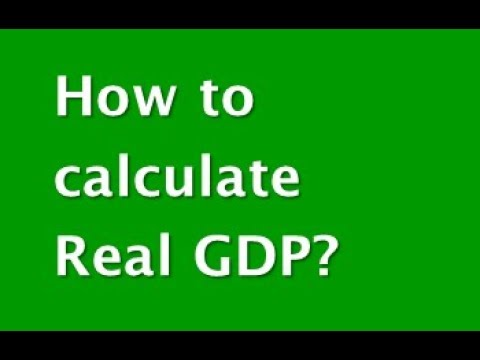 How to calculate Real GDP? (CAIIB-ABM)