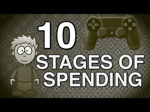 10 Stages of Spending Too Much Money on Video Games