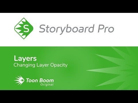 How to Change Layer Transparency in Storyboard Pro