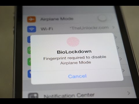 How to Lock Specific Settings and Apps with your Fingerprint on the iPhone 5S