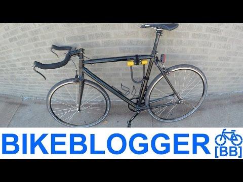 How I Carry U Lock On A Bike Commute Pro Tip BikeBlogger