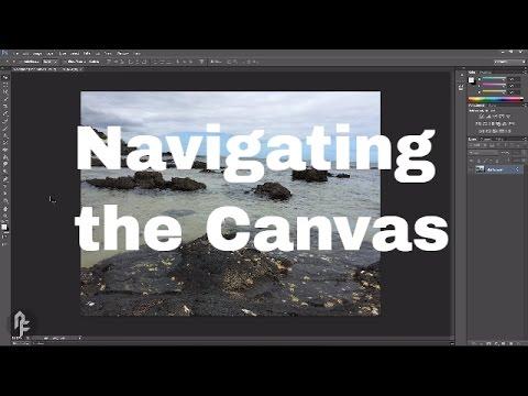 Photoshop Web Design Tutorial Series - Navigating the Canvas