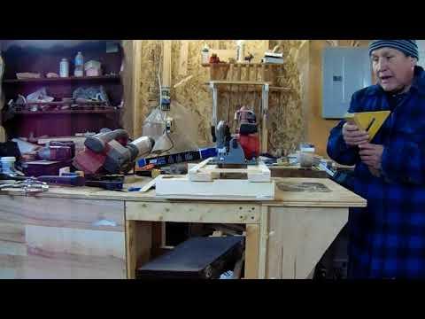 Portable circular saw, cross cut miter sled