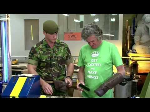 How To Get Your Shoes Shiny - James May's Man Lab