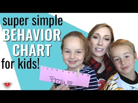 Mom Hacks: Super Simple Behavior Chart for Kids! | Jordan from Millennial Moms