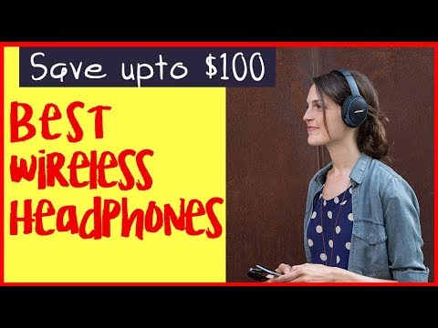 Buy Best Noice Cancelling Wireless Headphones for phone and music