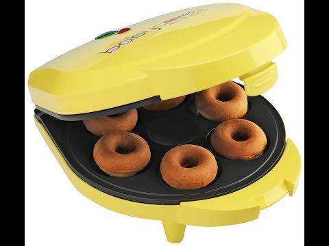 Review: Babycakes DN-6 Mini Doughnut Maker, Yellow, 6 Donut