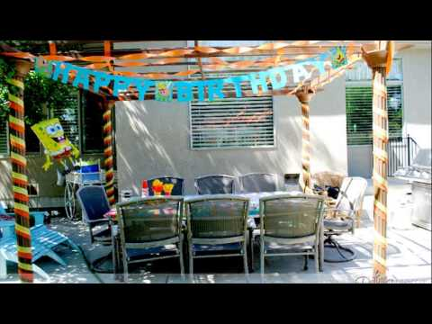 streamer decoration ideas
