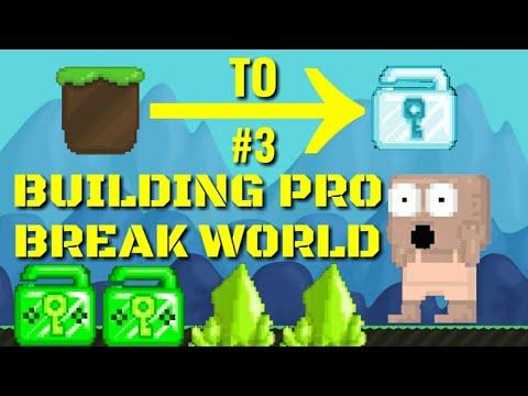 Dirt to DL #3 (BUILDING PRO BREAK WORLD) GROWTOPIA