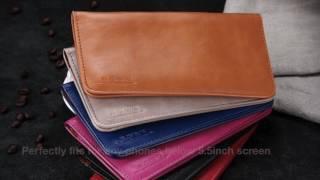 Luxury Retro Leather Wallet Phone Case