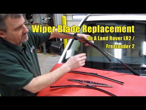 Atlantic British Presents: Land Rover LR2 and Freelander 2 Wiper Blade Replacement