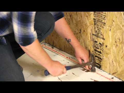 How to Install Carpet Grippers : Carpet Installation & Maintenance