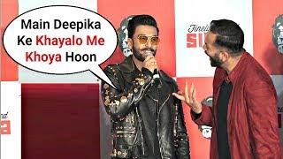 Ranveer Singh Missing Wife Deepika Padukone At Simmba Promotion