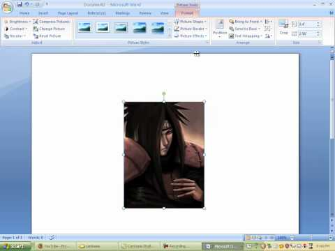 Inserting and Editing Picture in MS Word