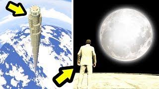 هناك ناطحات سحاب وهناك ناطحة القمر شاهد ما لم تشاهده من قبل في قراند 5   GTA V Tallest Building Mod