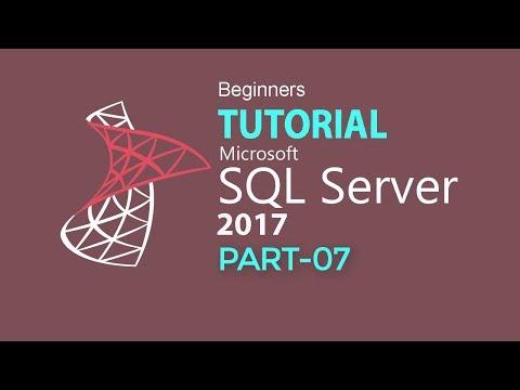 SQL SERVER 2017 TUTORIAL : PART 07 (RELATION & JOIN)