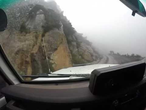 Treacherous Journey Up Ben Lomond Mountain, Tasmania