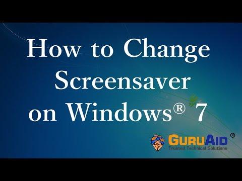 How to Change Screensaver on Windows® 7 - GuruAid